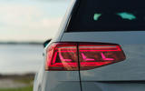 Volkswagen passat Estate R Line 2019 UK review - rear lights