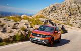 Volkswagen T-Cross 2019 first drive review - cornering front