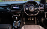 Volkswagen T-Roc R 2020 UK first drive review - dashboard
