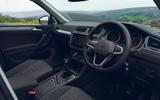 Volkswagen Tiguan Life 2020 UK first drive review - dashboard