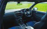 8 Volkswagen Tiguan R 2021 UK first drive review cabin