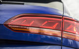 8 Volkswagen Touareg R eHybrid 2021 UK first drive review rear lights