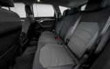 Volkswagen Touareg 2020 UK first drive review - rear seats