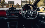 Volkswagen Up GTI 2020 UK first drive review - dashboard
