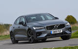 Volvo S60 T5 2019 UK first drive review - cornering front