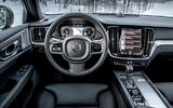 Volvo V60 Cross Country 2019 first drive review - dashboard