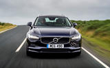 Volvo V90 R-Design Pro 2018 UK first drive review - on the road nose