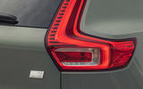 8 Volvo XC40 Recharge P8 2021 UK first drive review rear lights