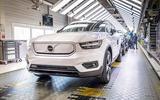 Volvo XC40 Recharge production in Ghent Belgium