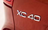 Volvo XC40 T3 2018 first drive review model badge