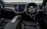 Volvo XC60 B5 2020 UK first drive review - dashboard