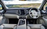 Volvo XC90 B5 petrol 2020 UK first drive review - dashboard
