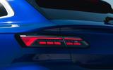 8 VW arteon R Shooting Brake 2021 UK FD rear lights
