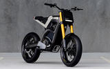Beringer brakes, a carbonfibre chassis and swingarm all feature on DAB Motos Concept E