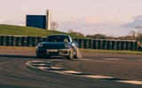 Corvette C8 vs Porsche 911 UK - Porsche track front