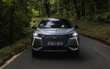DS 3 E-Tense 2019 first drive - on the road nose