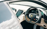 80 Ferrari Roma triple test 2021 Ferrari interior