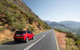 Land Rover Discovery Sport 2019 official reveal - on the road rear