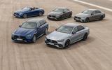 2020 Mercedes-AMG E63 facelift - estate line-up