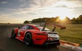 Porsche 911 RSR-19 drive - static rear