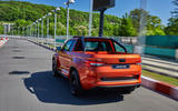Skoda Mountiaq concept first drive review - on the road rear
