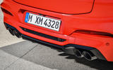 BMW X4M official press - exhausts