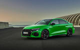 81 Audi RS3 2021 official reveal saloon static front