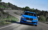 BMW 1 Series 2019 official reveal - on the road front