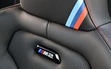 BMW CS 2020 official press images - seat details