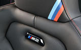 BMW CS 2020 official press images - seat details