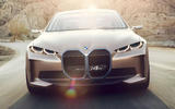 BMW i4 Concept 2020 - tracking front