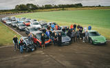 81 EV track day llandow 2021 feature entrants