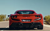 Ferrari F8 Tributo 2019 first ride review - rear end