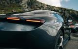 81 Ferrari Roma triple test 2021 ferrari brake lights