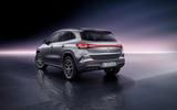 81 Mercedes Benz EQA official images studio rear