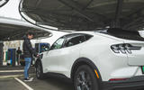 81 Mustang Mach e ID 4 Polestar 2 triple test 2021 Mustang charging