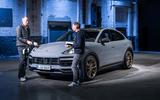 81 Porsche Cayenne GT 2021 official reveal interview front