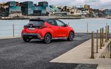 2020 Toyota Yaris prototype drive - static rear