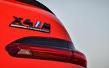 BMW X4M official press - rear badge