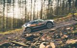 Aston Martin DBX 2020 prototype drive - gravel