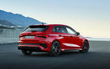 82 Audi RS3 2021 official reveal hatch static rear