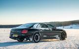 Bentley Flying Spur 2020 development ride - static rear