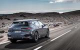 82 BMW iX prototype ride 2021 road rear