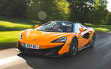 82 fastest cars tested by Autocar McLaren 600LT spider