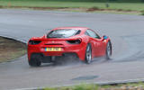 Ferrari 488 GTB rewind - cornering rear