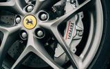 82 Ferrari Roma triple test 2021 Ferrari alloy