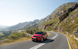 Land Rover Discovery Sport 2019 official pictures - on the road front