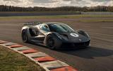 82 Lotus Evija 2021 track drive static
