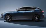 82 Maserati Levante Hybrid 2021 official images studio static side