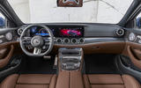 2020 Mercedes-AMG E63 facelift - estate dashboard